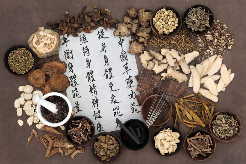 Chinese herbal medicine with acupuncture