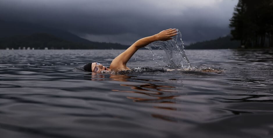 Acupuncture can help alleviate chronic pain of athletes such as swimmers